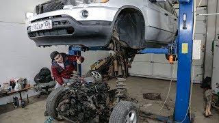 Строим BMW X5 с мотором ВАЗ 16V на 400 сил! (2я серия) Жорик Ревазов.