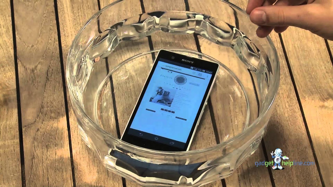 icon sony xperia z waterproof test video patients who are