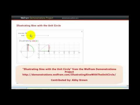Animation: Graphing the Sine Function Using the Unit Circle