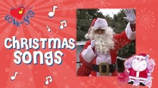 Kids Christmas Songs | Santa Has a Red Red Coat | Children Love to Sing
