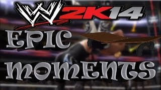 WWE 2K14 Epic Table Moments!
