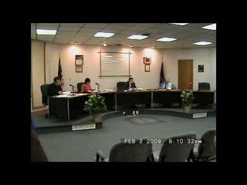 Rouses Point Village Board Meeting 2-2-09
