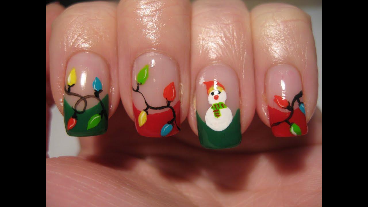 Christmas Nail Designs Youtube
