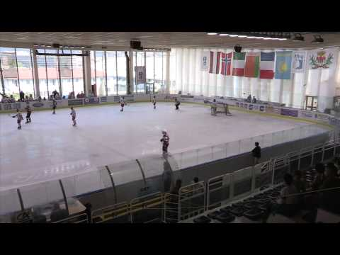 2014 IIHF ICE HOCKEY U18 WORLD CHAMPIONSHIP Div. I Group A, Latvia Belarus 1st period