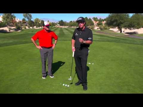 Odyssey 2 Minute Drill - Lag Putting with Phil Mickelson
