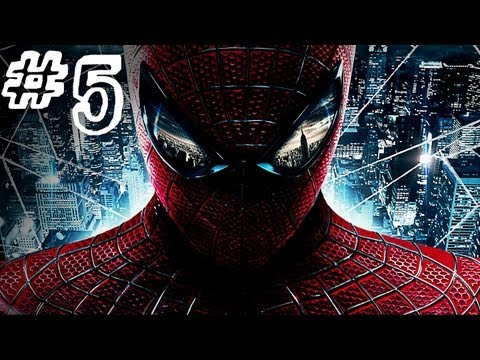 The Amazing Spider-Man - Gameplay Walkthrough - Part 5 - DAILY BUGLE (Video Game)