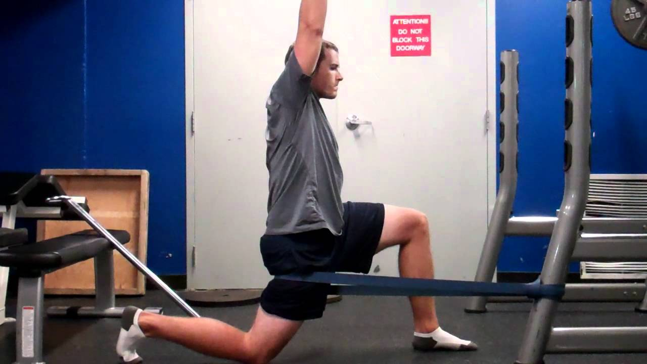 hip flexors tight while running