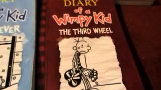 Diary Of A Wimpy Kid Book Series 1-7