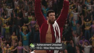 WWE 2K14 - Create A Superstar - Superstar Heads on CAWs, Social Networks, & Props (ACHIEVEMENTS)