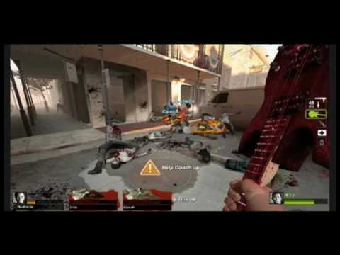 Left 4 Dead 2: Criken's First Game