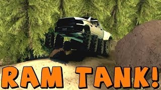 Spin Tires Dodge Ram Tank! Download Link In Description