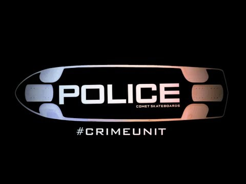 Comet Skateboards // Crime Unit - The Wild Boar