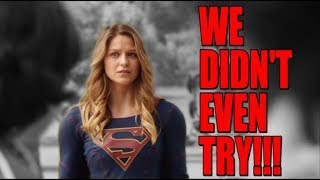 Supergirl Sinks To a New Low!