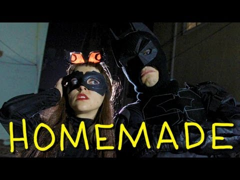Batman and Catwoman Rooftop Fight - Homemade w/ Jack Douglass, Olga Kay and Brock Baker