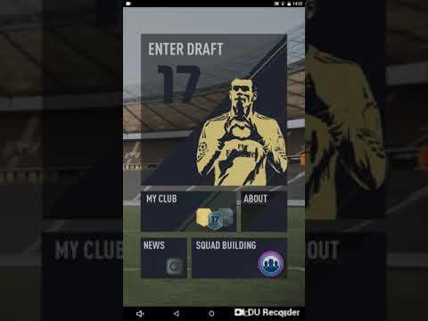 Fifa Fut draft 17 bölüm #1