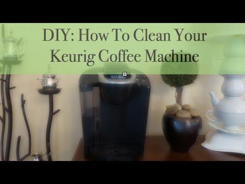 Coffee Maker Cleaner Diy : DIY: How To Clean Your Keurig Coffee Machine - YouTube