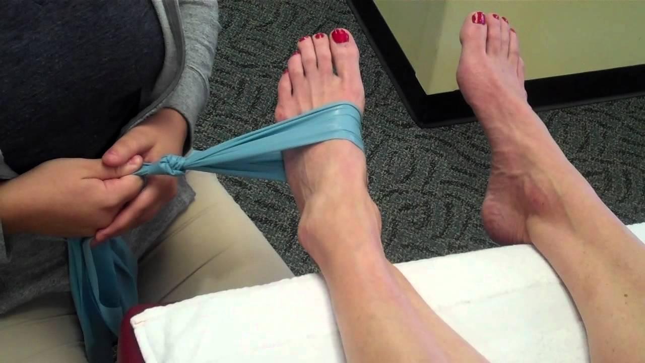 Posterior Tibial Strengthening Exercises - YouTube