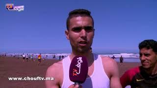 قبل موسم الصيف: شوفو حالة شاطئ عين الذياب بالبيضاء بسبب رمي النفايات | خارج البلاطو
