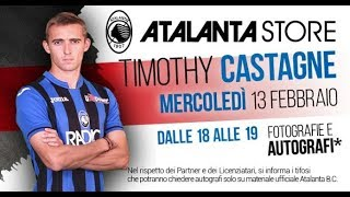 Atalanta Store: special guest Timothy Castagne