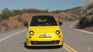 Fiat 500C Abarth --  Test Drive. Drive Youtube Channel.
