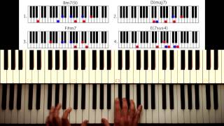 How To Play: Get Lucky Daft Punk. Original Piano Lesson