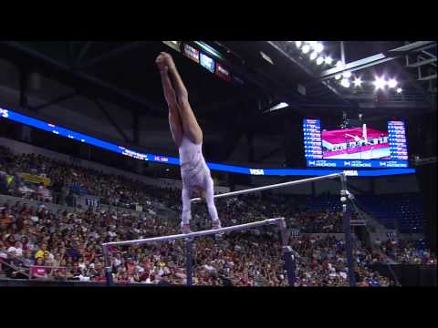 Aly Raisman - Bars - 2012 Visa Championships - Sr. Women - Day 2