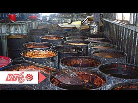 Sản phẩm chứa dầu bẩn được tẩu tán đi đâu? | VTC
