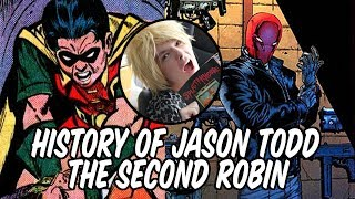 History Of Jason Todd The Second Robin