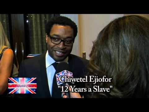 Chiwetel Ejiofor Star of 12 Years a Slave! TAC Exclusive!!!