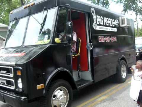 Azariah brown presents big head s barbershop on wheels youtube