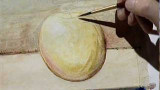 How To Paint An Apple In Watercolor 2 / Cómo Pintar Una
