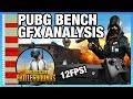 PUBG Benchmark Graphics Analysis on Xbox One X