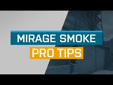 CS:GO - ProTips: Mirage - T-Spawn Smoke for Mid Window