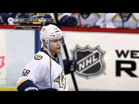 LGHL S17 Week 2: Nashville Predators vs Philadelphia Flyers (2/2/14)