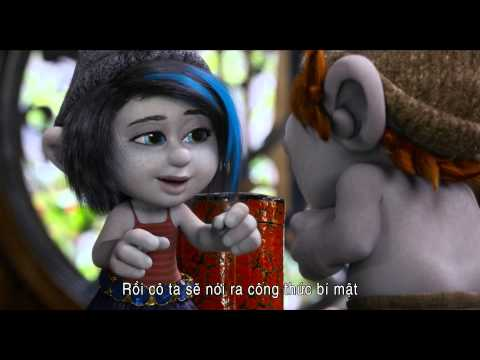 Xì Trum 2 - The Smurfs 2 - Trailer phụ đề Việt