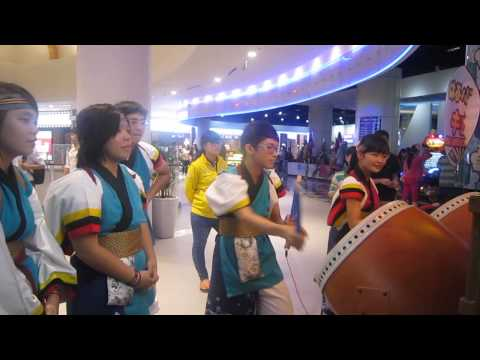 [YOSAGO] AEON Shopping Mall - Taiso Drum 06 (13.01.2014)