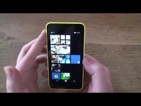 Nokia Lumia 630 Hands-On (German)