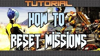 Borderlands 2 How To Reset Missions