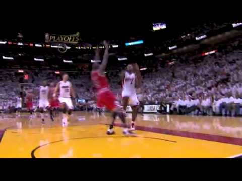 NBA Playoffs 2011: Chicago Bulls Vs Miami Heat Game 4 OT Highlights (1-3)