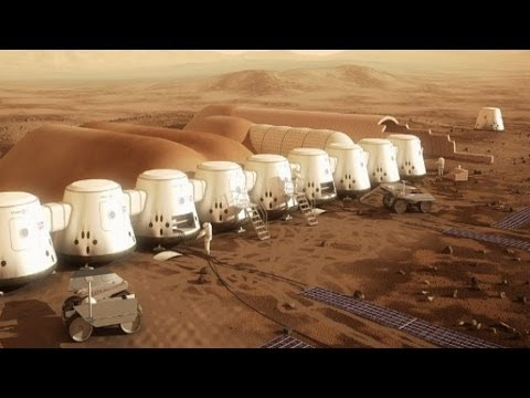 Help Colonize Mars! A One Way Trip Leaves In 2024 On A Mars One Rocket Ship