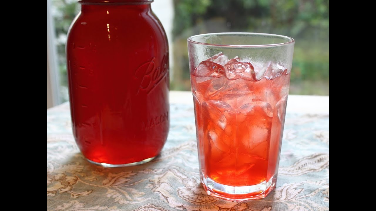 Strawberry Syrup - How to Make Fresh Strawberry Syrup and Strawberry ...