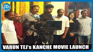 Varun Tej's Kanche Movie Launched -Visuals