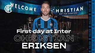CHRISTIAN ERIKSEN'S FIRST DAY AT INTER! | #WelcomeChristian 🇩🇰⚫🔵???