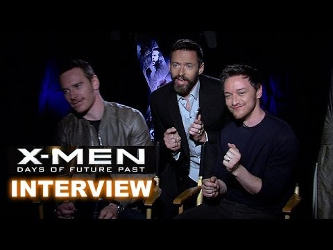 X-Men Days of Future Past Interview Today! Fassbender, McAvoy and JACKMAN?! - Beyond The Trailer