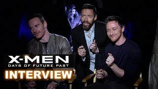 X-Men Days Of Future Past Interview Today! Fassbender