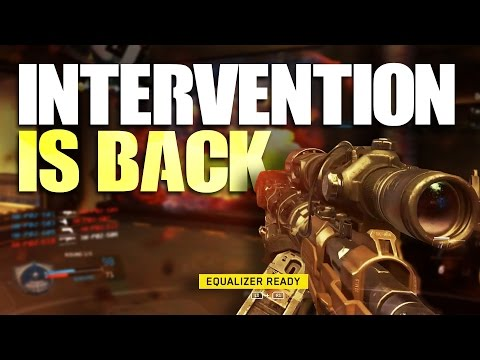 INTERVENTION IS BACK | Infinite Warfare Sniper Gameplay Call of Duty