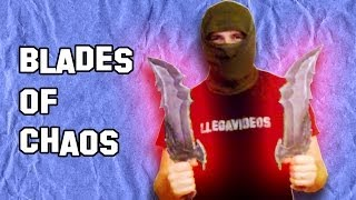 Como Hacer Las Blades Of Chaos De God Of War Armas