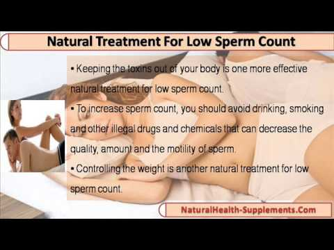 Common Drugs and Medications to Treat Low Sperm Count