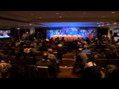 Draft Day: Press Conference Part 3 of 10 - Kevin Costner, Jennifer Garner, Terry Crews
