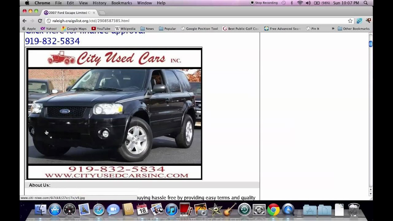 Craigslist Raleigh Nc Used Cars Finding Deals Online